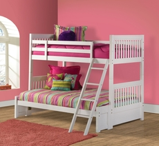 Hillsdale Furniture Lauren Twin over Full Bunk Bed