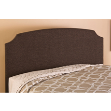 Hillsdale Furniture Lawler Headboard with Bed Frame in Brown Fabric King Size