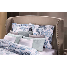 Hillsdale Furniture Lisa Headboard with Bed Frame King Size
