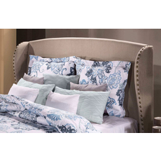 Hillsdale Furniture Lisa Headboard with Bed Frame Queen Size