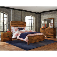 Hillsdale Furniture Madera 4 Piece Storage Bedroom Set