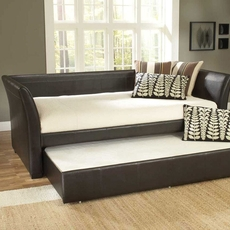 Hillsdale Furniture Malibu Leather Daybed with FREE Trundle - Closeout!