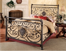 Hillsdale Furniture Mercer Complete Bed King Size