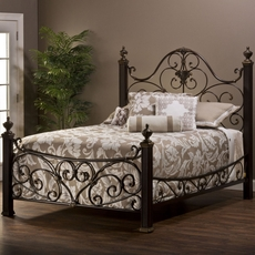 Hillsdale Furniture Mikelson Post Bed King Size