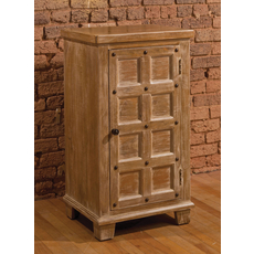 Hillsdale Furniture Millstone 3 Tier Cabinet with Nailheads
