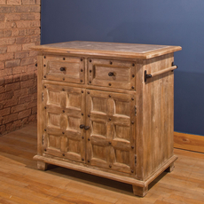 Hillsdale Furniture Millstone Kitchen Island with Nailheads