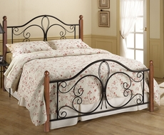 Hillsdale Furniture Milwaukee Wood Post Bed Full Size