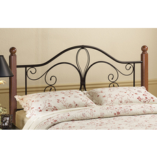 Hillsdale Furniture Milwaukee Wood Post Headboard King Size