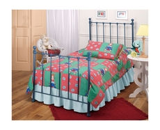 Hillsdale Furniture Molly Twin Bed in Blue