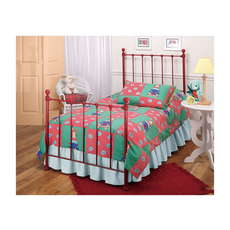 Hillsdale Furniture Molly Twin Bed in Red