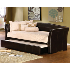 Hillsdale Furniture Montgomery Daybed in Brown with Free Mattress