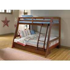 Hillsdale Furniture Rockdale Bunk Bed in Cherry