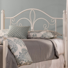 Hillsdale Furniture Ruby Wood Post Headboard with Bed Frame Full/Queen Size