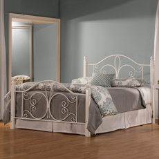 Hillsdale Furniture Ruby Wood Post Complete Bed Queen Size