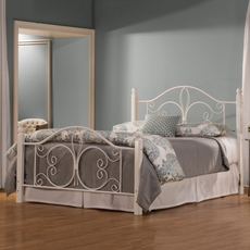 Hillsdale Furniture Ruby Wood Post Complete Bed King Size