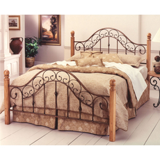 Hillsdale Furniture San Marco Complete Bed Queen Size
