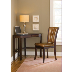 Hillsdale Furniture Solano Desk with Chair in Cherry