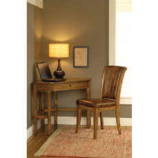 Hillsdale Furniture Solano Desk with Chair in Oak