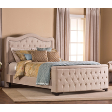 Hillsdale Furniture Trieste Storage Bed in Buckwheat Queen Size