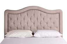 Hillsdale Furniture Trieste Headboard with Bed Frame Queen Size