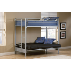 Hillsdale Furniture Universal Twin Over Futon Bunk Bed