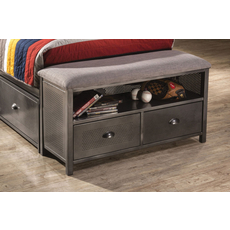 Hillsdale Furniture Urban Quarters Free Standing Footboard Bench