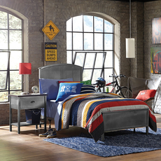 Hillsdale Furniture Urban Quarters Panel Bed Full Size