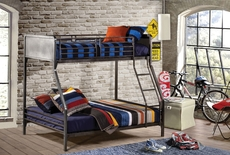 Hillsdale Furniture Urban Quarters Twin Over Full Bunk Bed