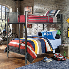 Hillsdale Furniture Urban Quarters Twin Over Twin Bunk Bed