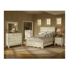 Hillsdale Furniture Wilshire 5 Piece Bedroom Set Panel