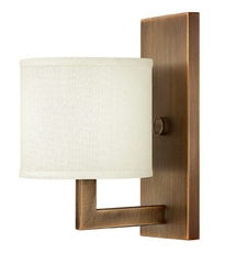 Clearance Hinkley Lighting Hampton Single Wall Sconce OVFCR011812