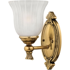 Clearance Hinkley Lighting Francoise 1-Light Sconce OVFCR011804
