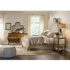 Hooker Furniture Sanctuary Queen Tufted Bedroom Set