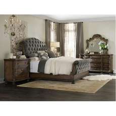Hooker Furniture Rhapsody King Tufted Bedroom Set