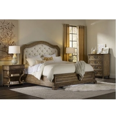 Hooker Furniture Solana King Upholstered Panel Bedroom Set