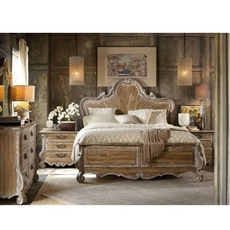 Hooker Furniture Chatelet Cal King Wood Panel Bedroom Set
