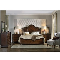Hooker Furniture Leesburg Queen Panel Bedroom Set