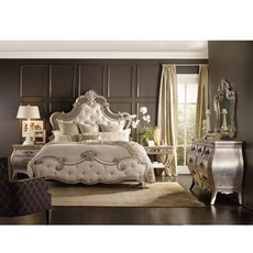 Hooker Furniture Sanctuary Bardot King Upholstered Bedroom Set