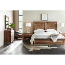 Hooker Furniture L'Usine Queen Panel Bedroom Set
