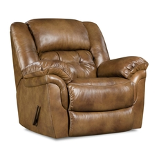 HomeStretch Cheyenne Power Rocker Recliner in Saddle