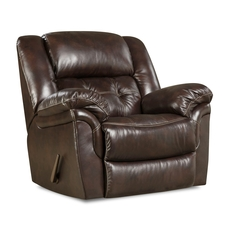 HomeStretch Cheyenne Power Rocker Recliner in Whiskey