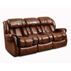 HomeStretch Cody Power Reclining Sofa in Espresso