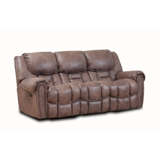 HomeStretch Del Mar Power Reclining Sofa in Mocha