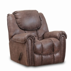 HomeStretch Del Mar Rocker Recliner in Mocha