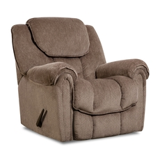 HomeStretch Del Mar Rocker Recliner in Taupe