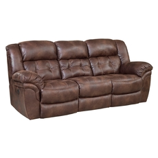 HomeStretch Frontier Power Reclining Sofa in Espresso