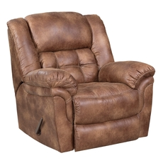 HomeStretch Frontier Power Rocker Recliner in Almond