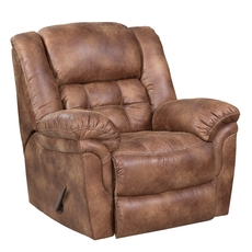 HomeStretch Frontier Rocker Recliner in Almond