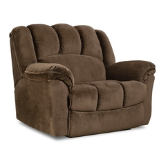 HomeStretch Hershey Snuggler Recliner in Espresso