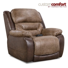 HomeStretch Lone Star Power Wall Saver Recliner with Power Headrest and Power Lumbar Foot Extension